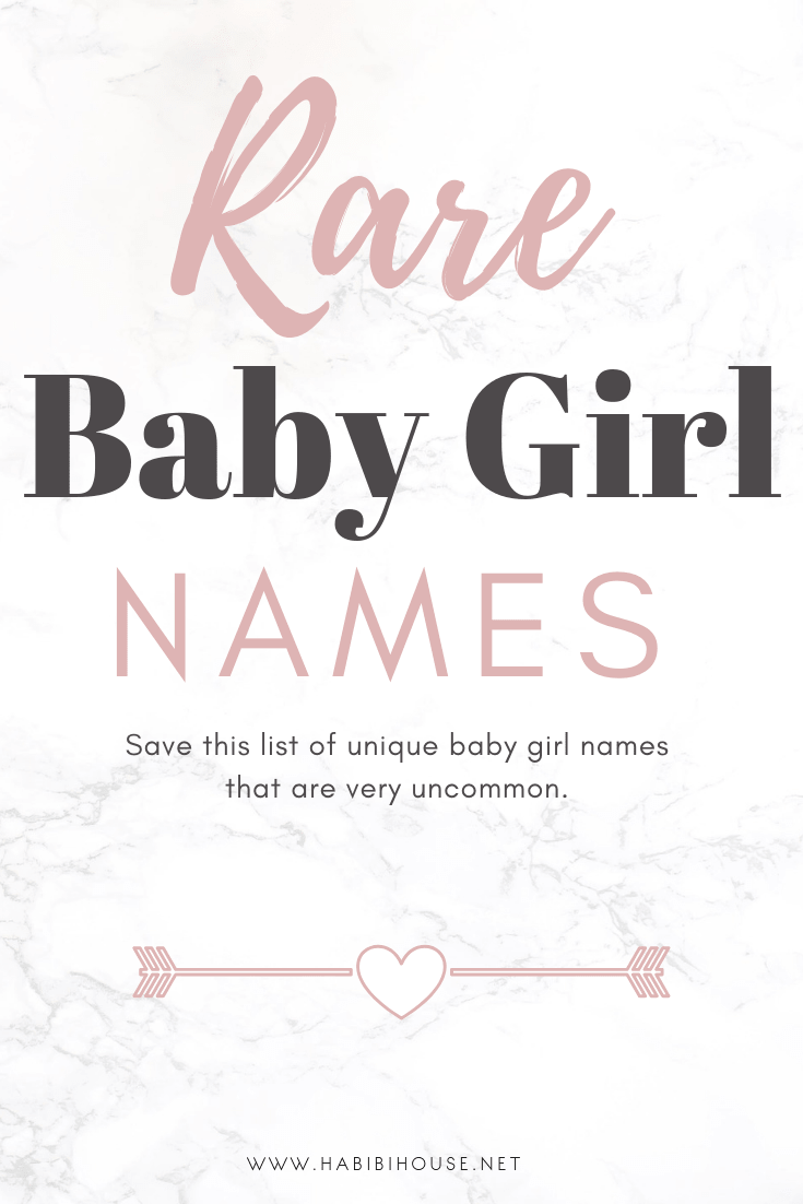 25 Insanely Beautiful & Unique Baby Girl Names that are Rising in